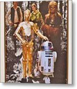 Stars Wars Autographed Movie Poster Metal Print