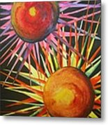 Stars With Colors Metal Print