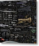 Starships... Metal Print