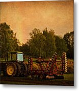 Starting Over - Vintage Country Art Metal Print