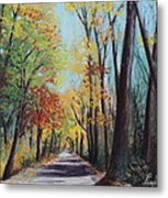 Starved Rock Park - Autumn Colors Metal Print by Prashant Shah