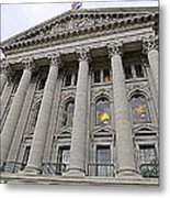 State Capitol Madison Wisconsin Metal Print