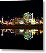 State Fair In Reflection Metal Print