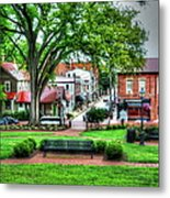 State House Grounds Metal Print