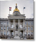 State House Metal Print