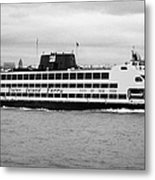 staten island ferry Andrew J Barberi new york usa Metal Print