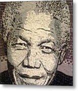 Nelson Mandela Statesman Metal Print
