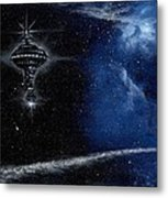 Station In The Stars Metal Print