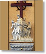 Station Of The Cross 01 Metal Print