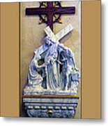 Station Of The Cross 06 Metal Print