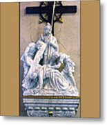 Station Of The Cross 07 Metal Print