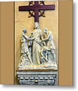 Station Of The Cross 10 Metal Print