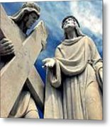 Station Of The Cross  Metal Print