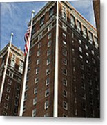 Statler Towers Metal Print by Peter Chilelli