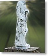Statue 20 Metal Print