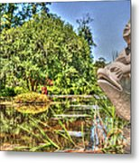Statue In Brookgreen Gardens Metal Print