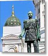 Statue Of Alexander II Metal Print