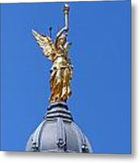 Statue Of An Angel Metal Print