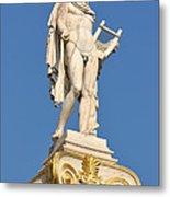 Statue Of Apollo Metal Print