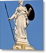Statue Of Athena Metal Print