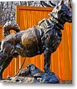 Statue Of Balto In Nyc Central Park Metal Print by Anthony Sacco