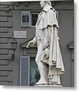Statue Of Carlo Goldoni Metal Print