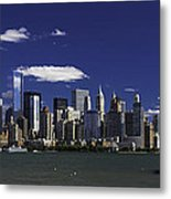 Statue Of Liberty Ferry 2 Metal Print