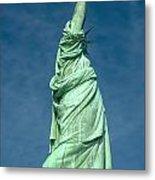 Statue Of Liberty Hdr Metal Print