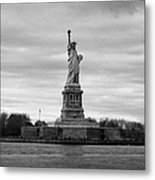 Statue Of Liberty Liberty Island New York City Metal Print by Joe Fox