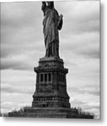 Statue Of Liberty National Monument Liberty Island New York City Usa Metal Print by Joe Fox