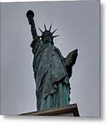 Statue Of Liberty - Paris France - 01131 Metal Print