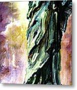 Statue Of Liberty Part 4 Metal Print