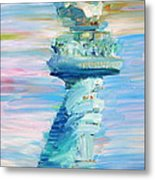 Statue Of Liberty - The Torch Metal Print