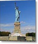 Statue Of Liberty Tourism Metal Print