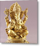 Statue Of Lord Ganesh Metal Print