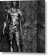 Statue Of Lord Sri Ram Metal Print