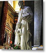 Statue Of St Stephen's Metal Print