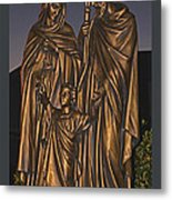 Statue Of The Holy Family  Metal Print