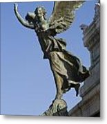 Statue On The Tomb Of The Unknown Soldier Metal Print
