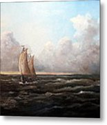 Staying Ahead Of The Weather Metal Print