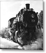 Steam And Iron Metal Print