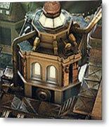 Steam City Metal Print