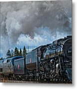 Steam Engine 261 Metal Print