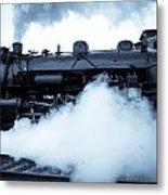 Steam Engine 3254 Metal Print