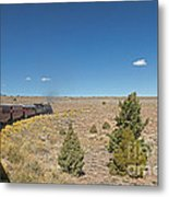 Steam Engine 489 At The Lava Tank On The Cumbres And Toltec Scenic Railroad Metal Print