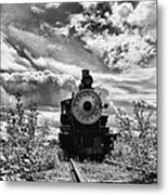 Steam Engine Metal Print
