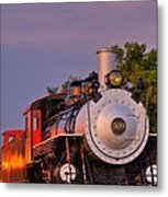 Steam Engine Number 509 Metal Print