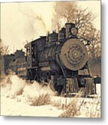 Steam Engine Number Two Metal Print