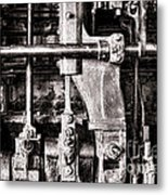 Steam Engine Metal Print by Olivier Le Queinec