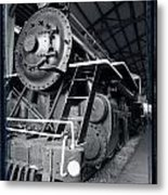 Steam Engine The Gold Coast Metal Print